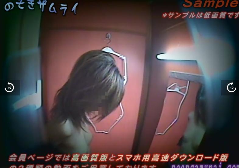 のぞきザムライ 水着試着室盗撮